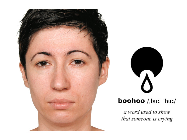 Facial Expression and Symbol: boohoo