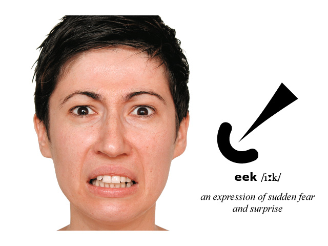 Facial Expression and Symbol: eek